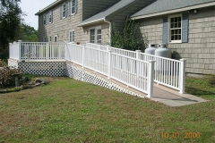 Ithaca ramp, composite deck