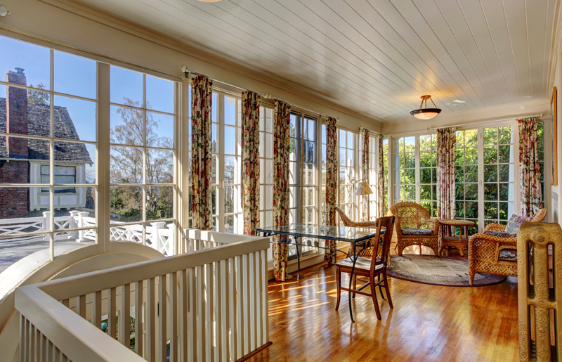 Crown construction inc dryden ny additions gallery for Adding sunroom to ranch house