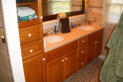 Bathroom, Silestone double sink