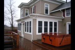 Completed porch1