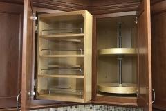 Denton display pull out shelf.upper lazy Susan