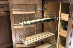 Morgan display lower pull out drawer