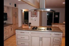Painted kitchen cabinetry Ithaca
